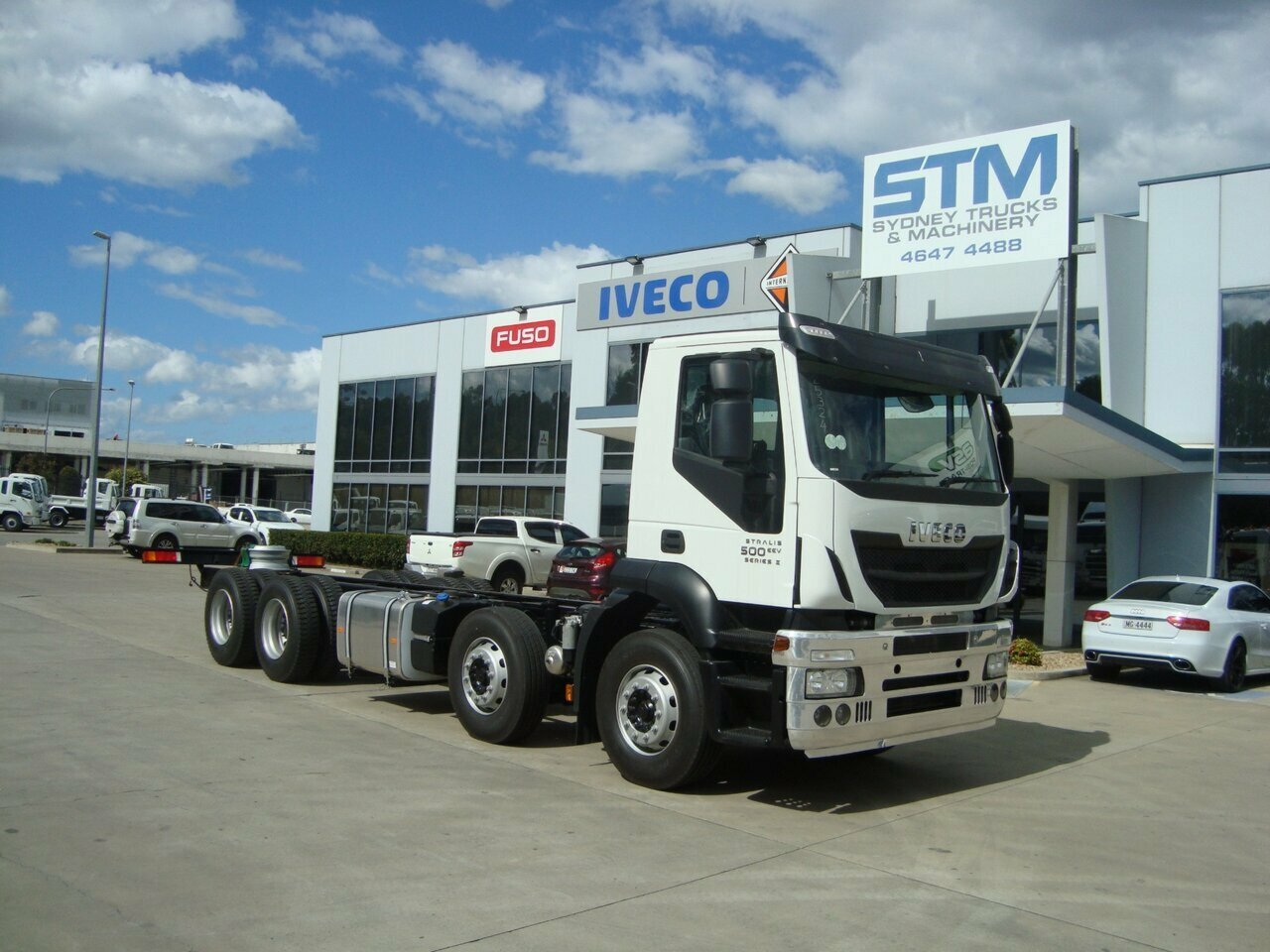 2018 IVECO STRALIS STRALIS CAB CHASSIS