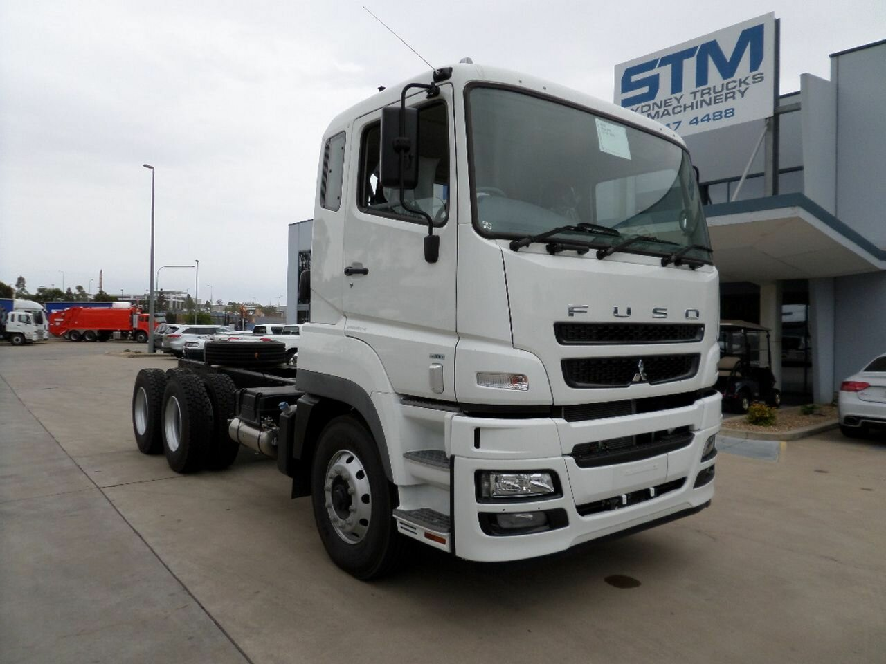 2017 FUSO HEAVY FV FV CAB CHASSIS