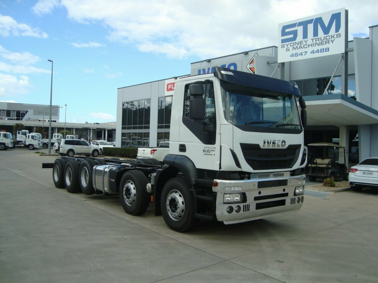 2018 IVECO AD500 STRALIS CAB CHASSIS