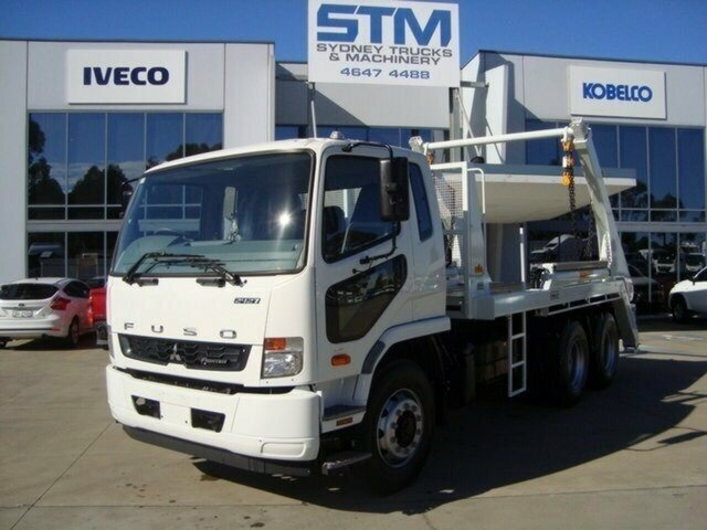 2018 FUSO FIGHTER FN CAB CHASSIS