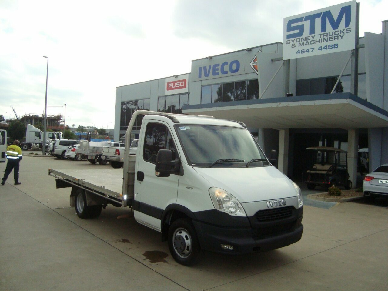 2013 IVECO DAILY 45C17L 2DR-ALLOYTRAY