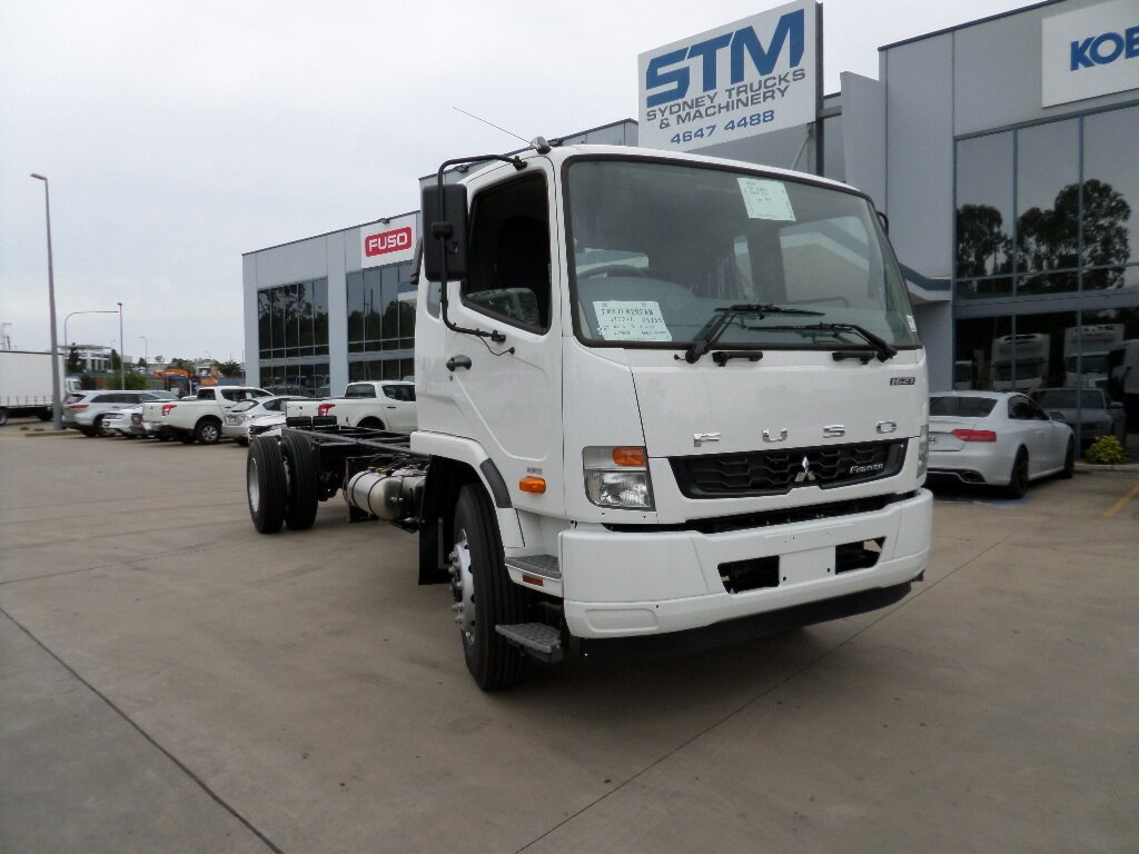 2018 FUSO FIGHTER FM CAB CHASSIS
