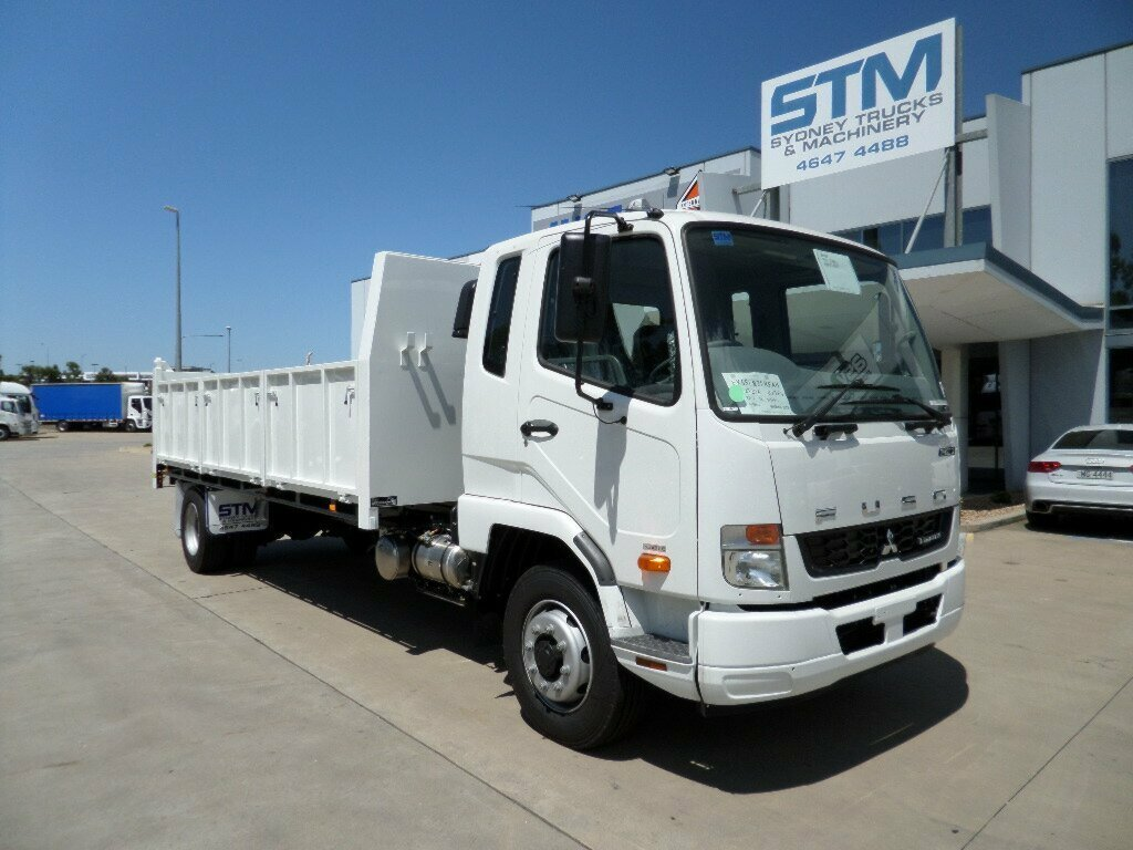 2018 FUSO FIGHTER FK FK CAB CHASSIS