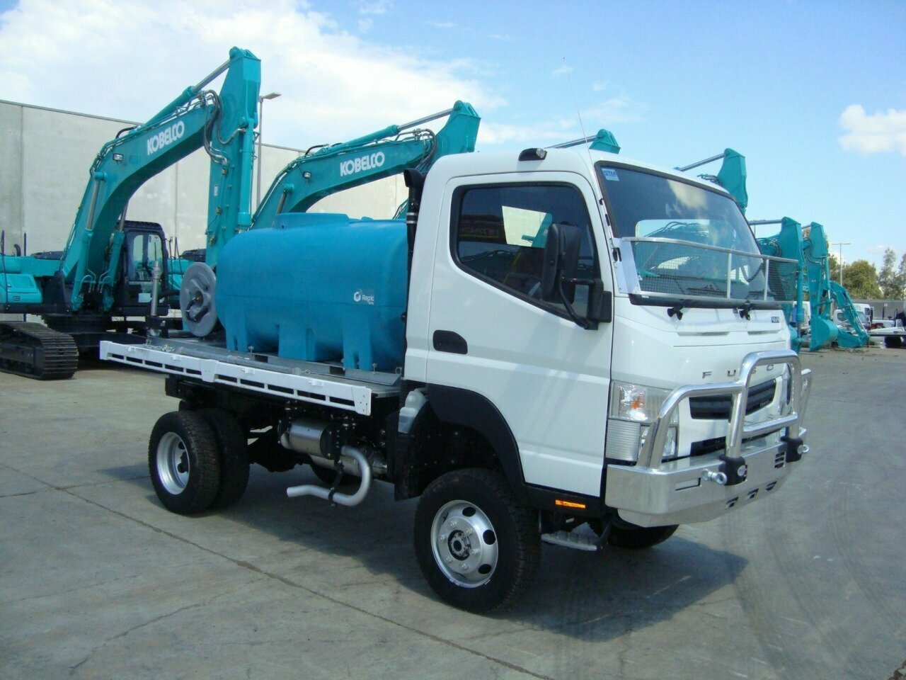2017 FUSO FGB71CR6SFAC CANTER CAB CHASSIS