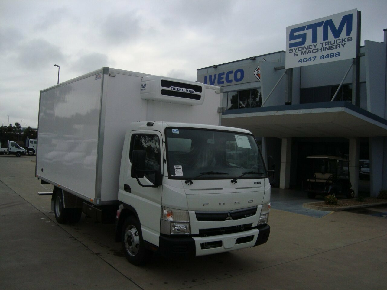 2018 FUSO CANTER FE REFRIGERATED TRUCK