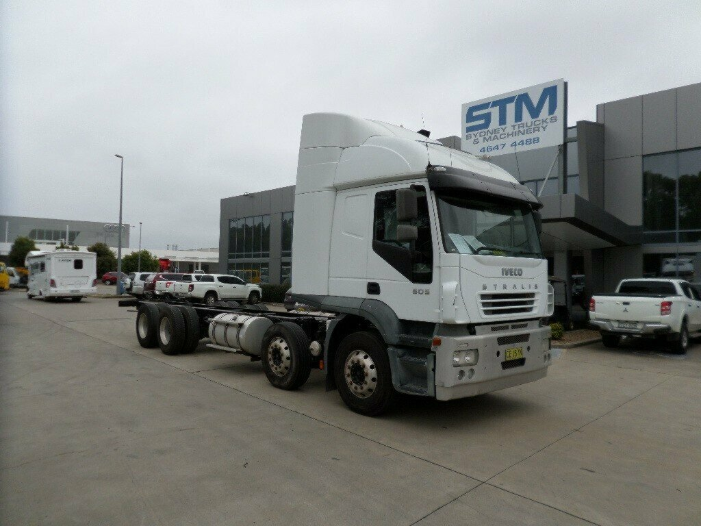 2007 IVECO STRALIS AT505 REFRIGERATED TRUCK
