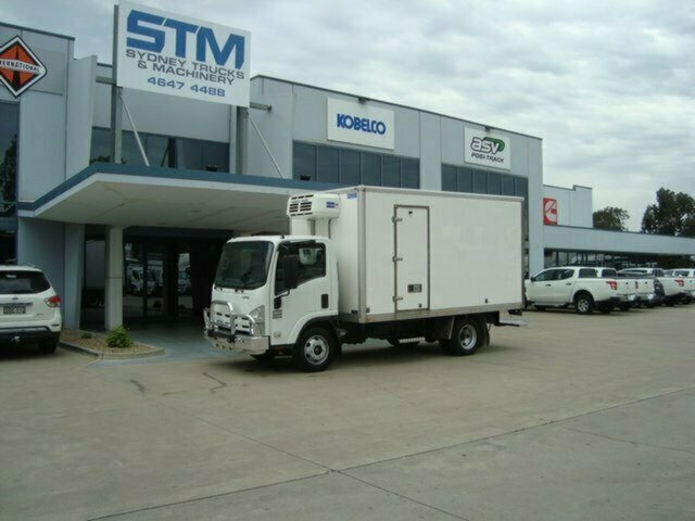 2010 ISUZU NPR 250 REFRIGERATED TRUCK