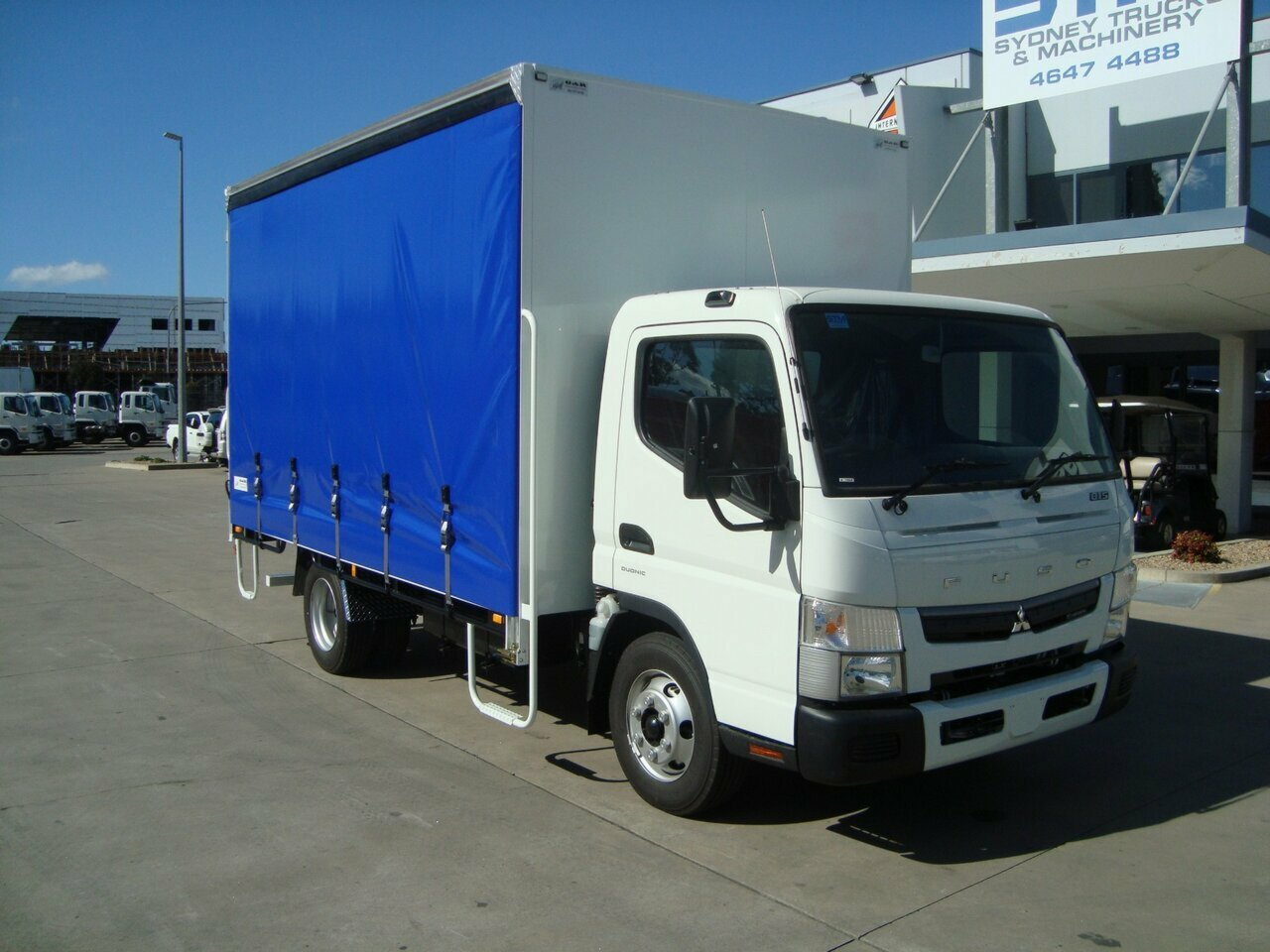 2019 FUSO CANTER FE CURTAIN SIDER