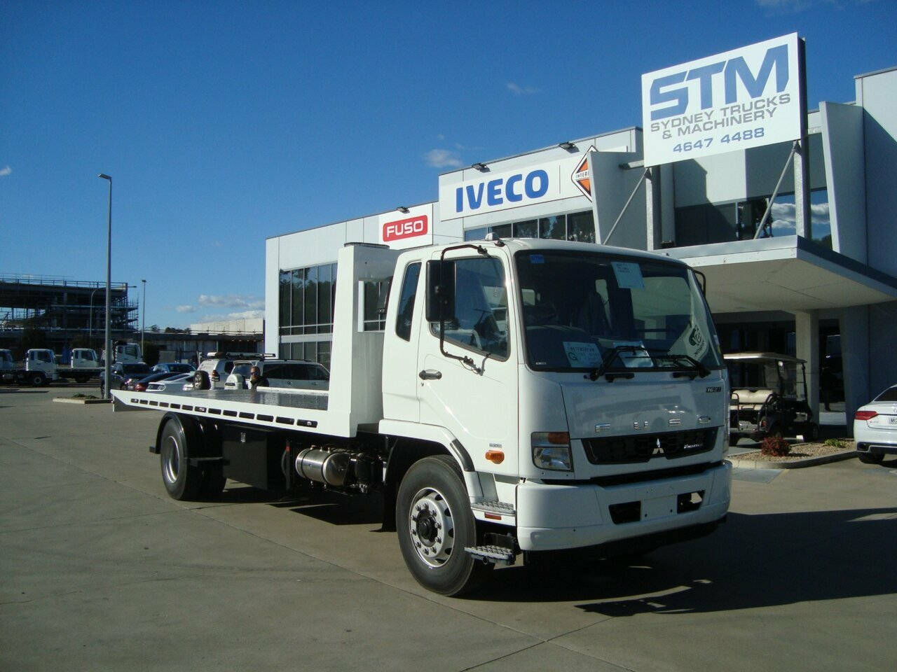 2019 FUSO FIGHTER FM TOW/TILT SLIDE