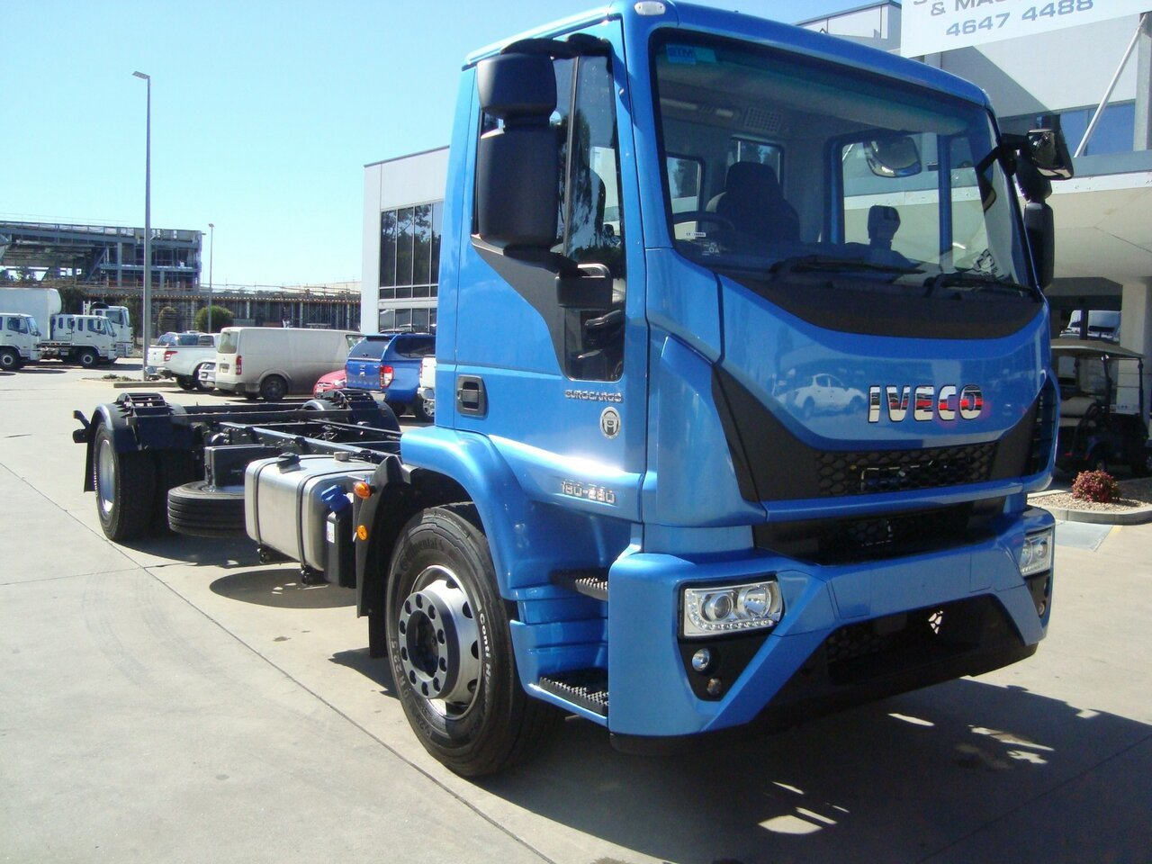 2019 IVECO EUROCARGO ML180 CAB CHASSIS