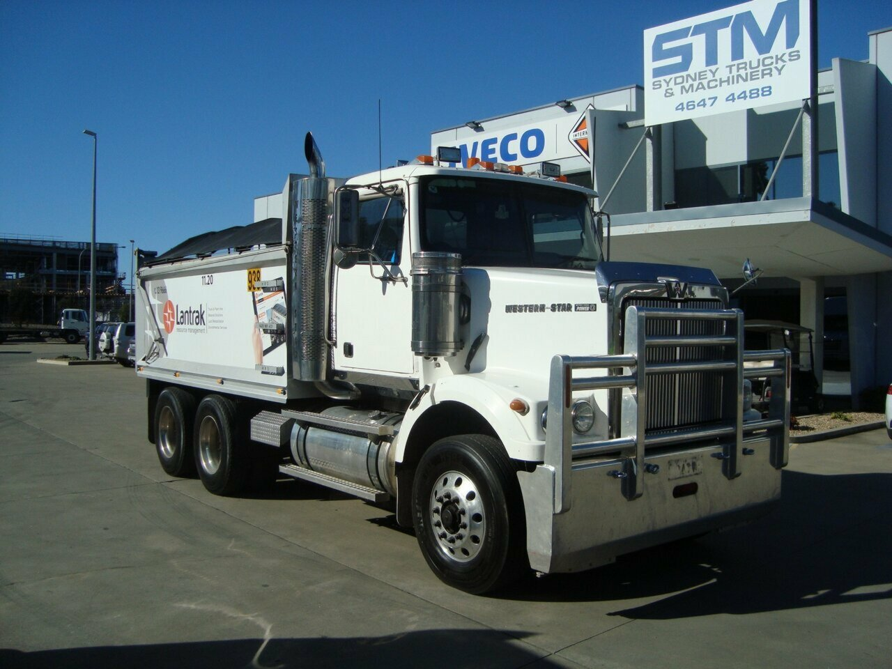 2008 WESTERN 4900 STAR TIPPER