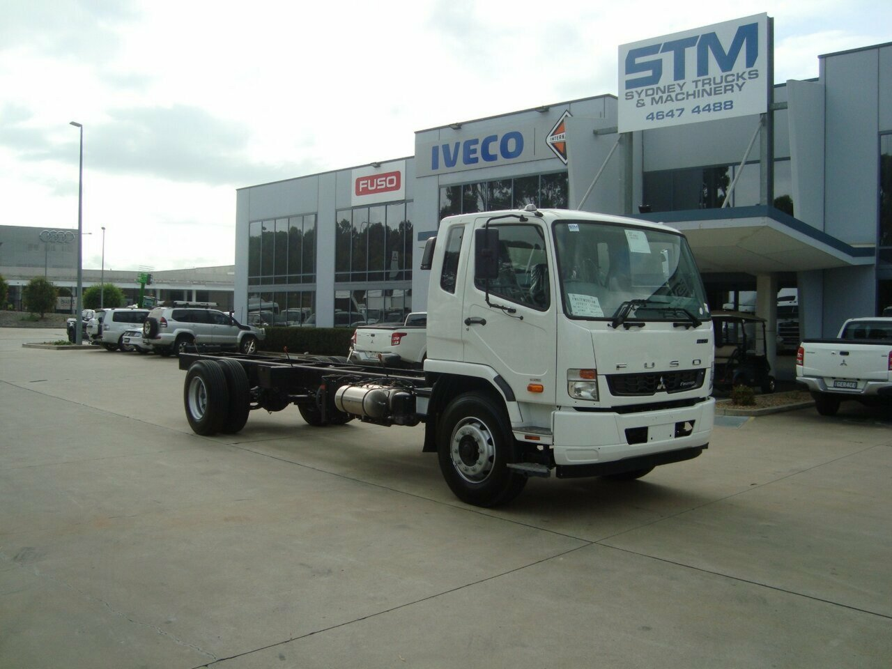 2019 FUSO 1627 FIGHTER  CAB CHASSIS