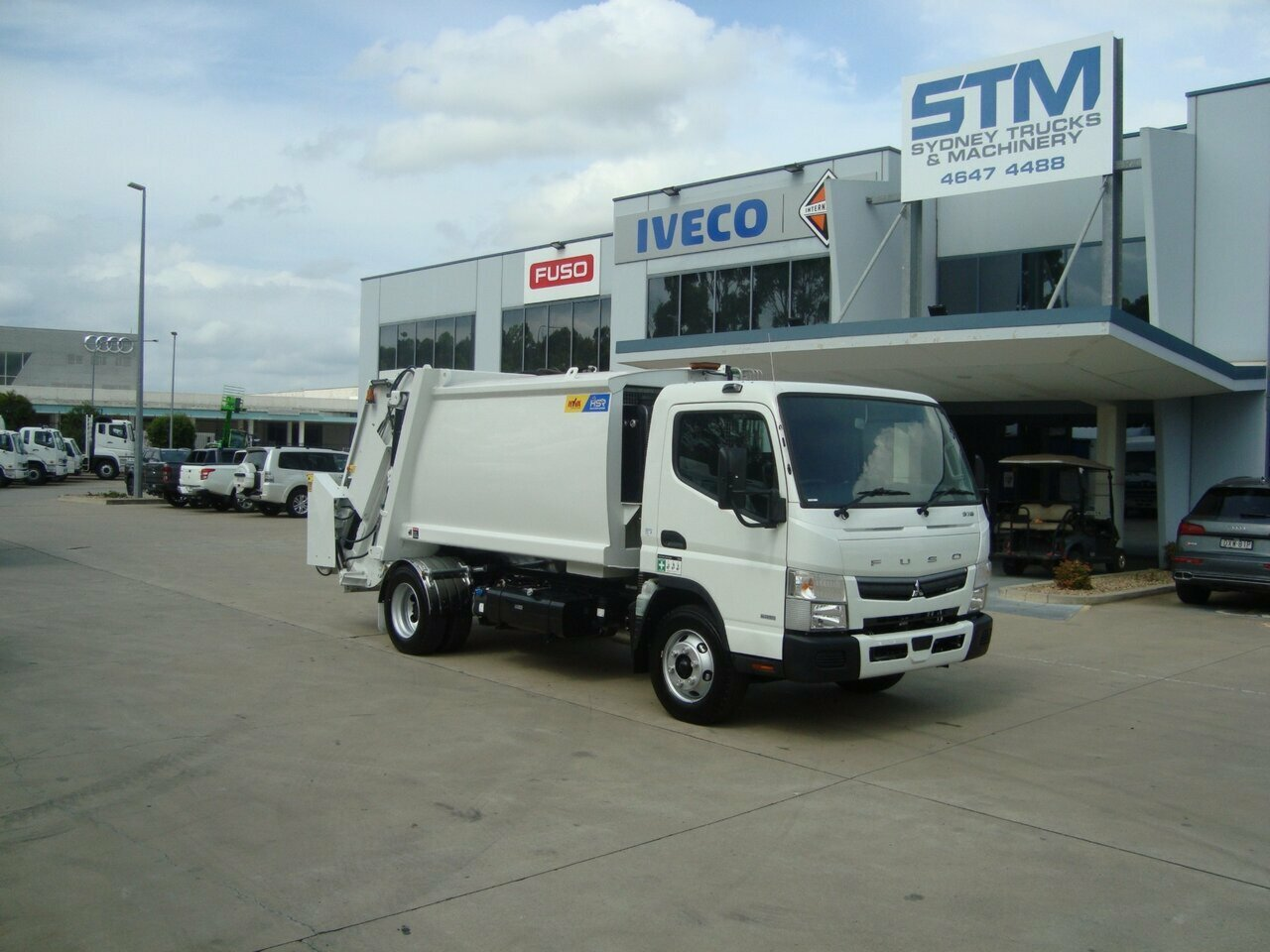 2019 FUSO 918 CANTER COMPACTOR