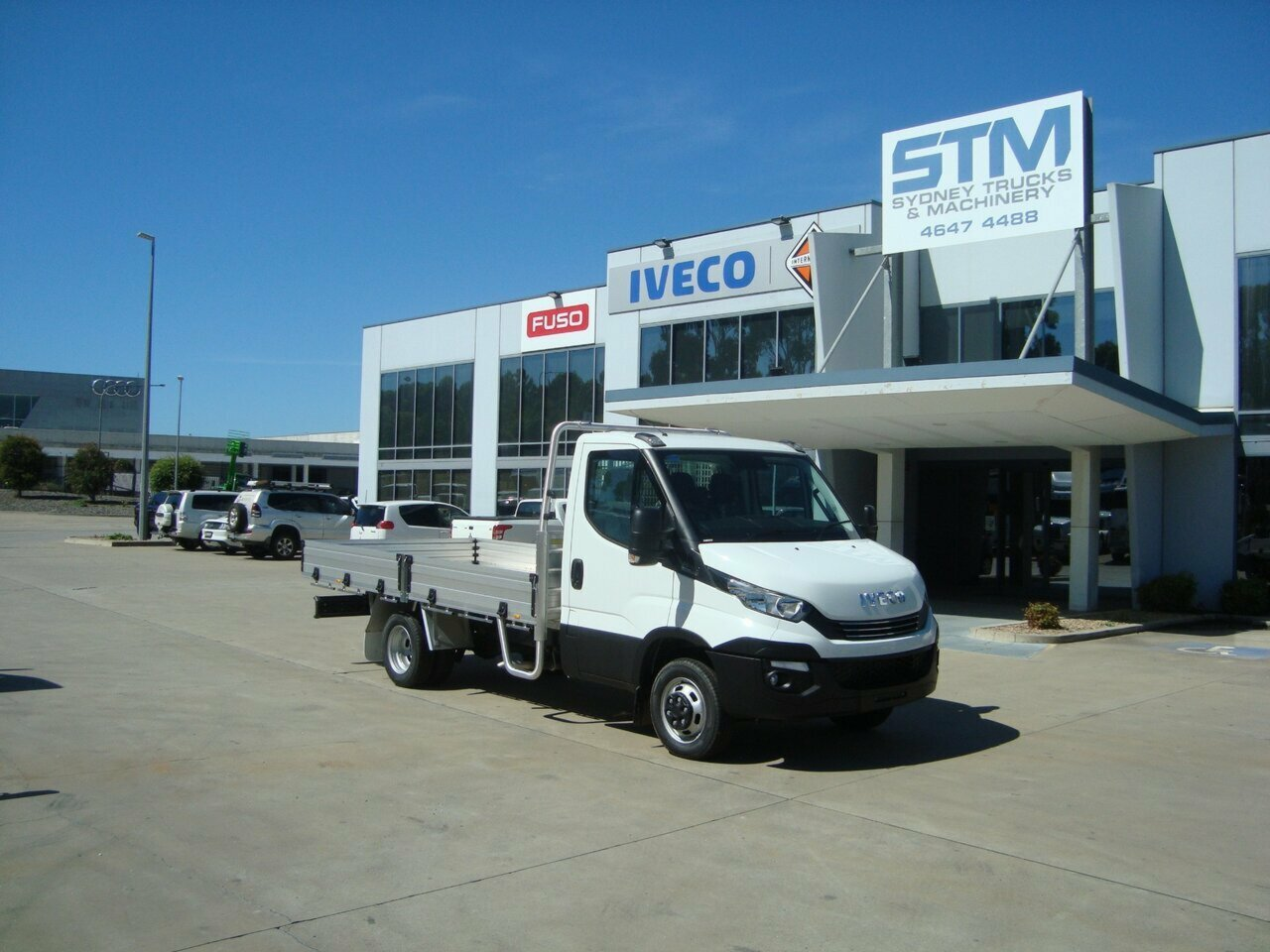 2020 IVECO DAILY TRADIE PACK 45C17  TRAYTOP