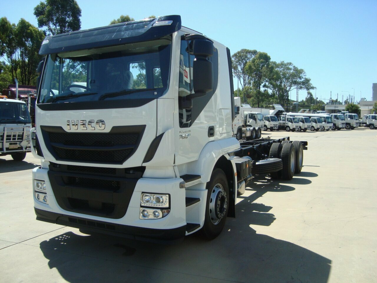 2019 IVECO ATI360 STRALIS CAB CHASSIS