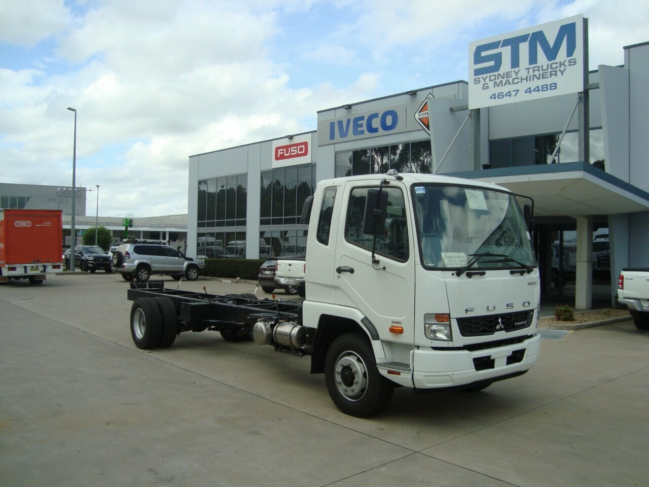 2019 FUSO FIGHTER 1227  CAB CHASSIS