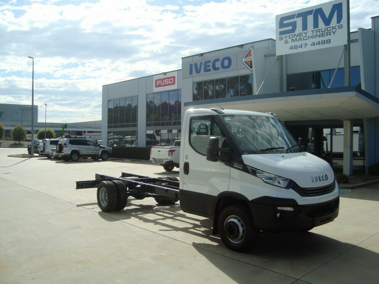 2020 IVECO 70C21 A8 DAILY CAB CHASSIS