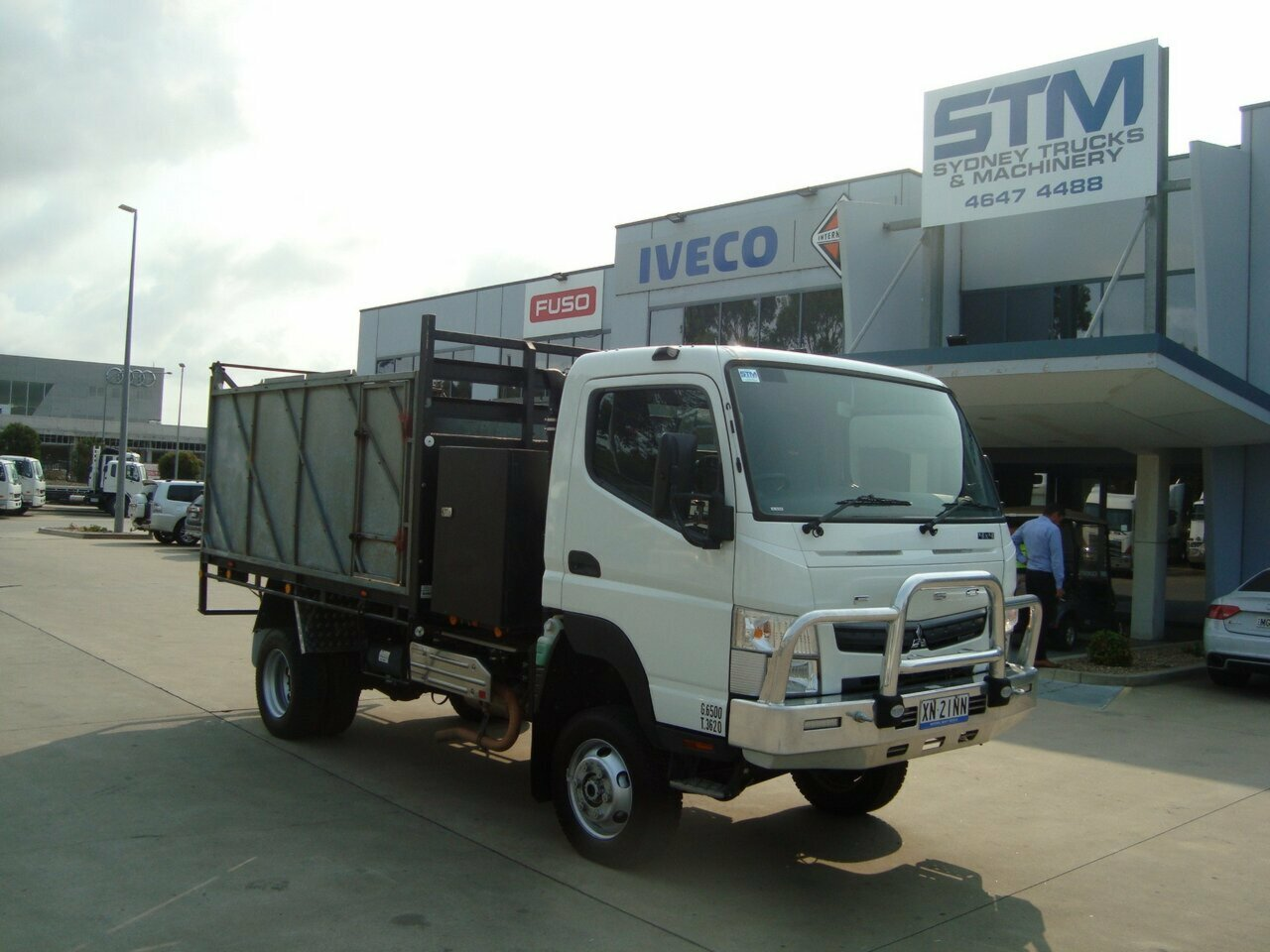 2017 FUSO FGB71ER6SFAC CANTER TIPPER