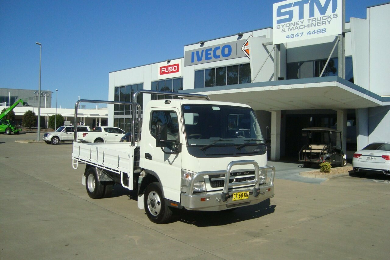 2009 FUSO CANTER FE83DC CAB CHASSIS