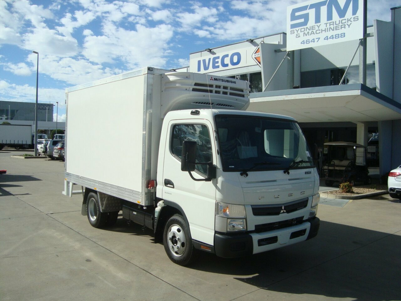 2018 FUSO 515W CANTER REFRIGERATED