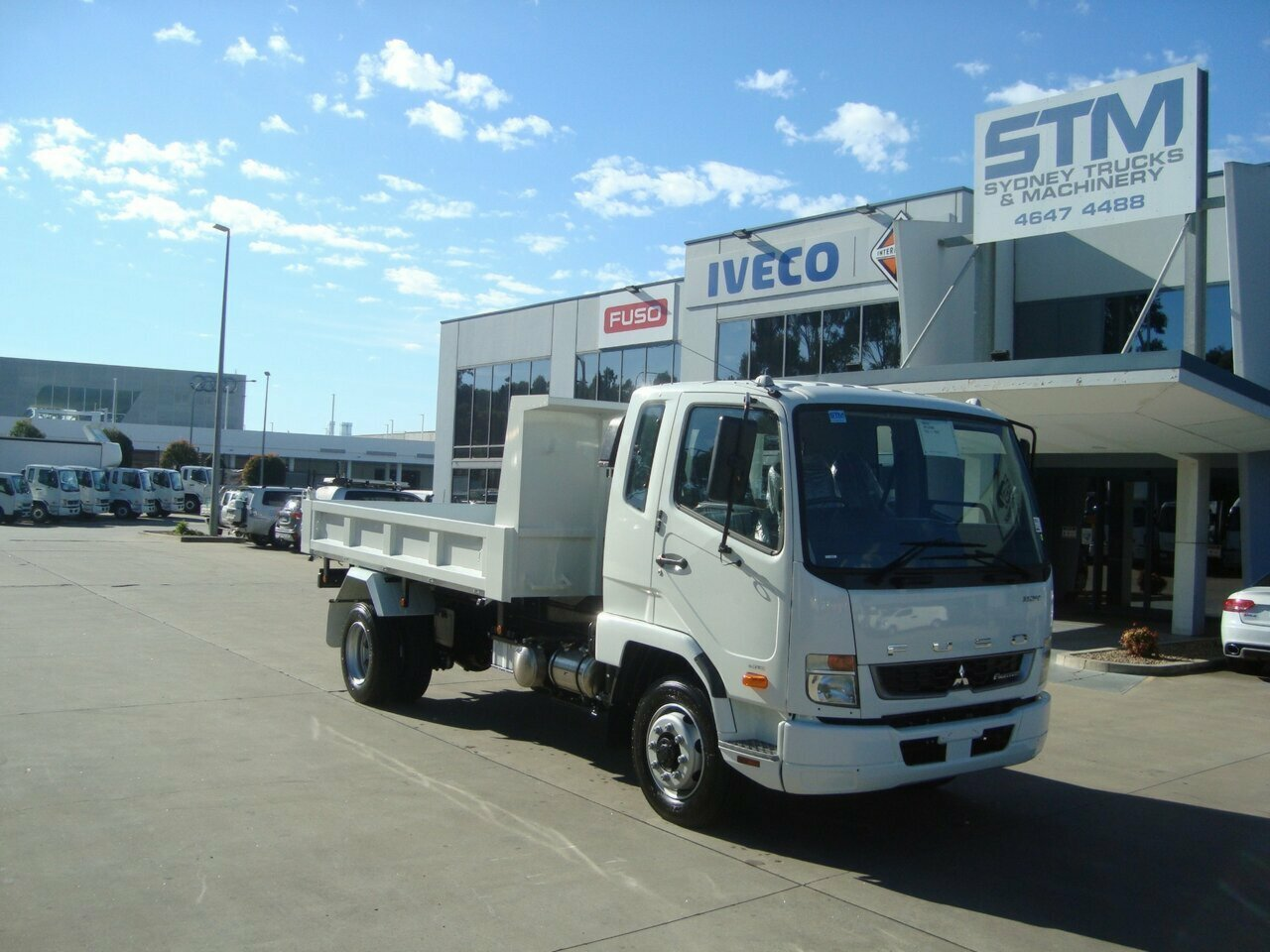 2020 FUSO 1124 FIGHTER TIPPER