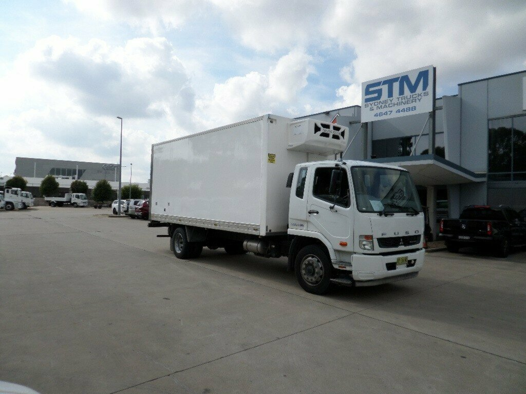 2013 FUSO FIGHTER 1627 2DR-FREEZER