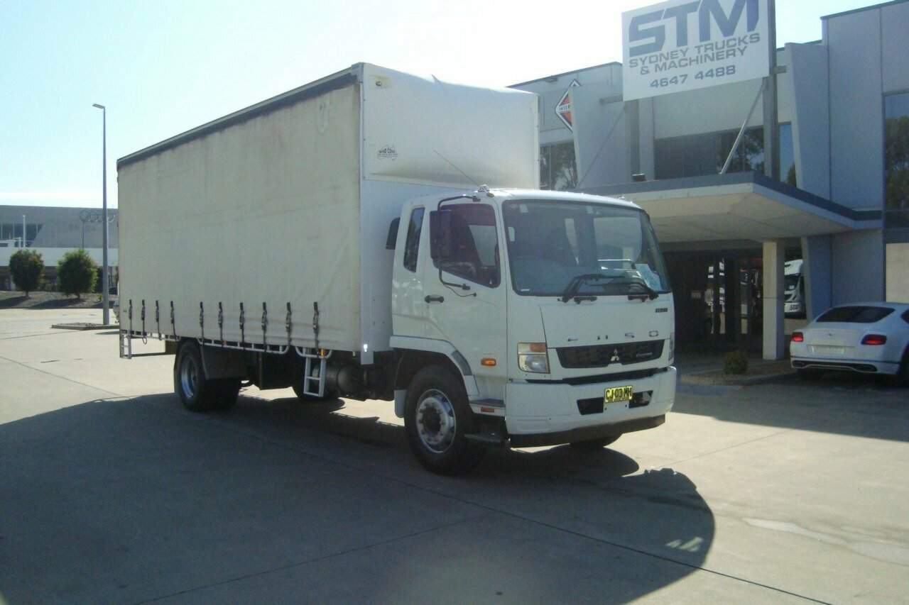 2015 FUSO FIGHTER 1627 2DR-C-SIDER