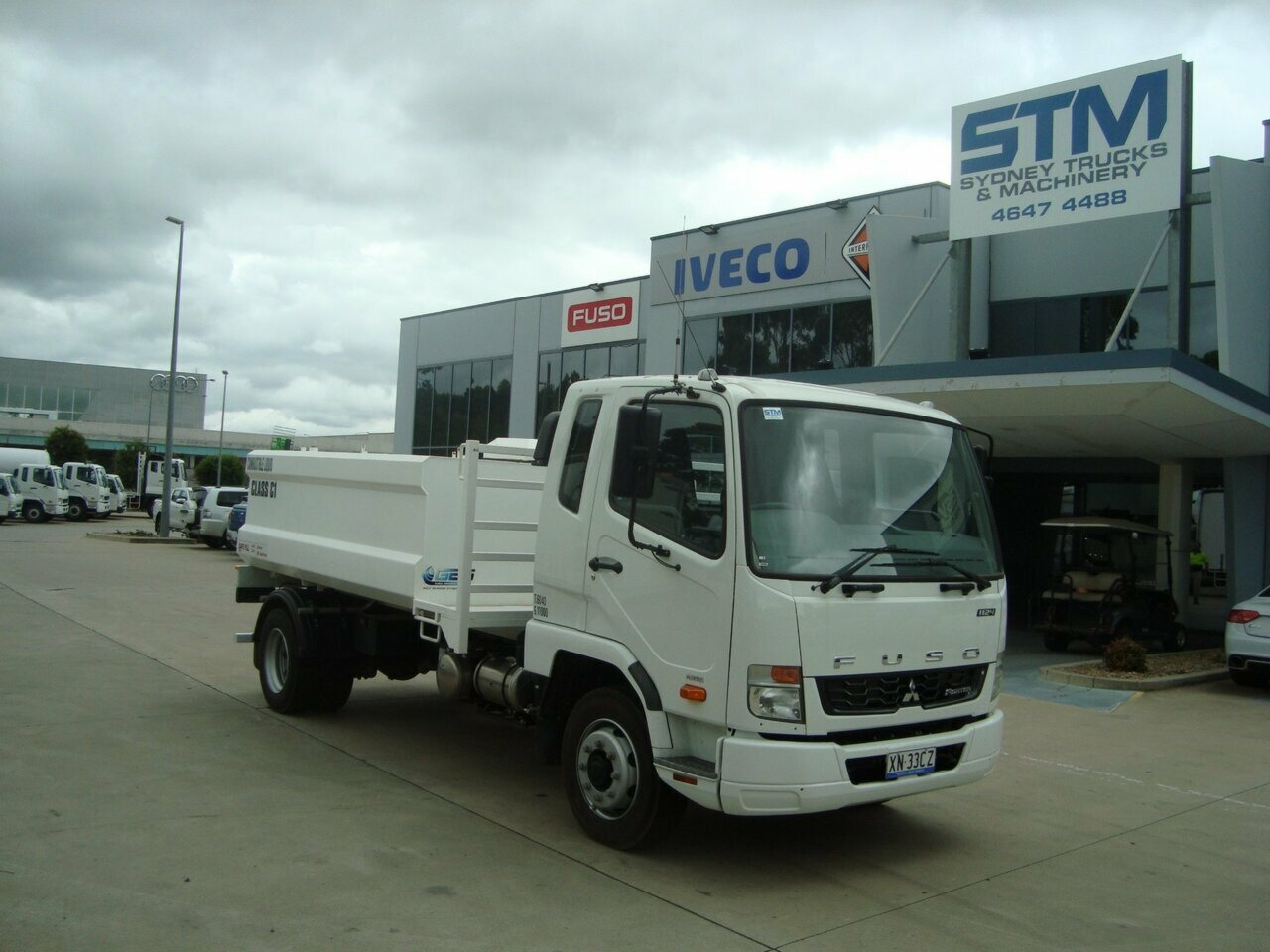 2018 FUSO 1124 FIGHTER TANKER