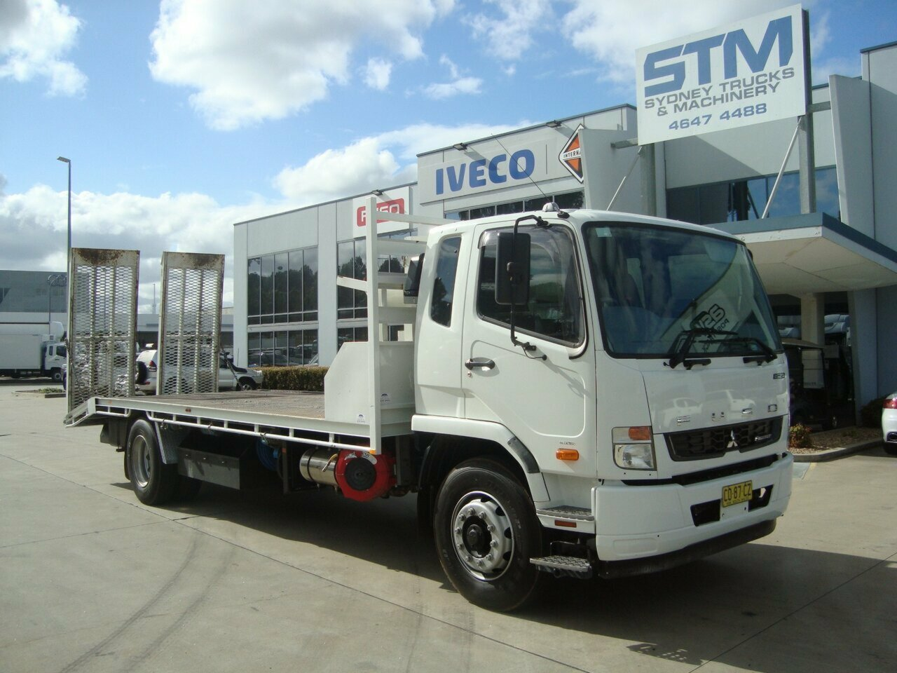 2017 FUSO 1627 FIGHTER BEAVERTAIL