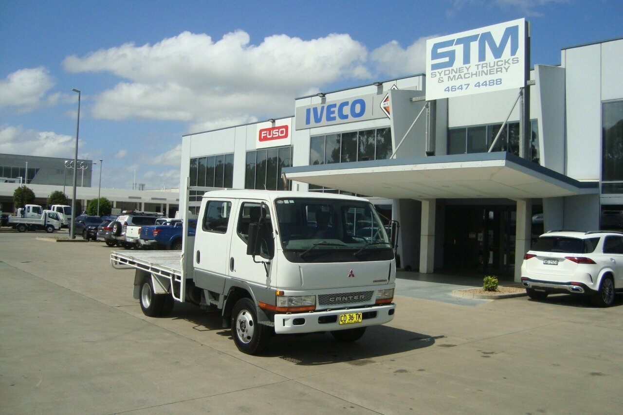 2004 FUSO FE64 CANTER TRAY TRUCK