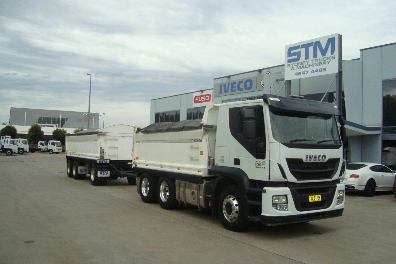 2017 IVECO AT500 STRALIS TIPPER