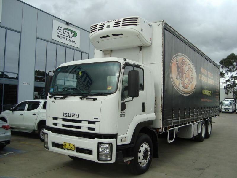2008 ISUZU FVL 1400 LONG TAUTLINER