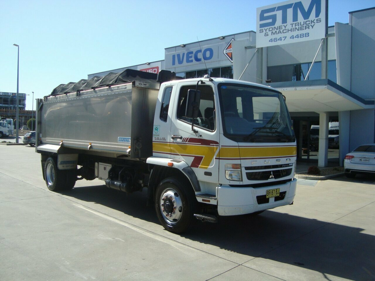 2010 FUSO FIGHTER FM67 TIPPER