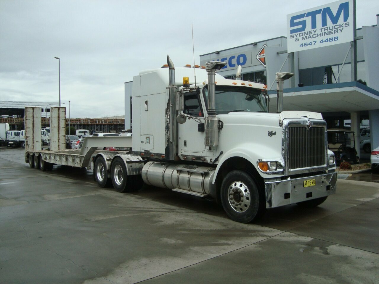 2007 INTERNATIONAL EAGLE 9900I PRIME MOVER
