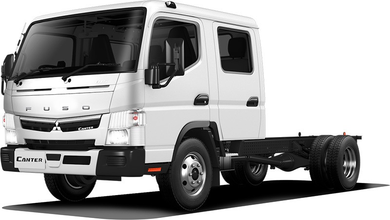 Canter 815 Wide Crew Cab